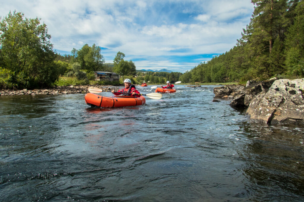 Packrafting in Rondane National Park