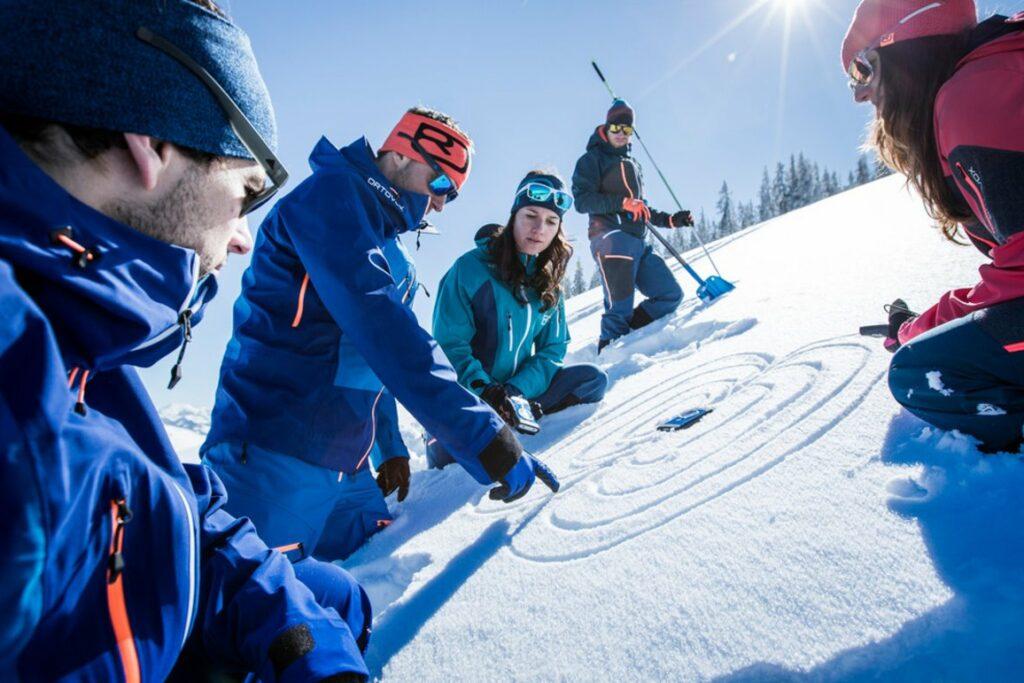 Rondane River Lodge avalanche course