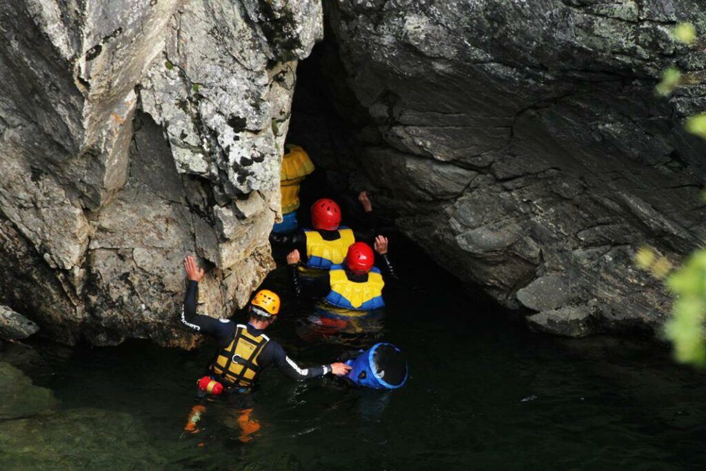 Canyoning Sjoa Valley