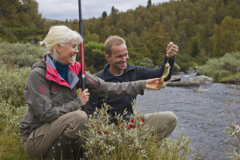 Rondane River Lodge fishing