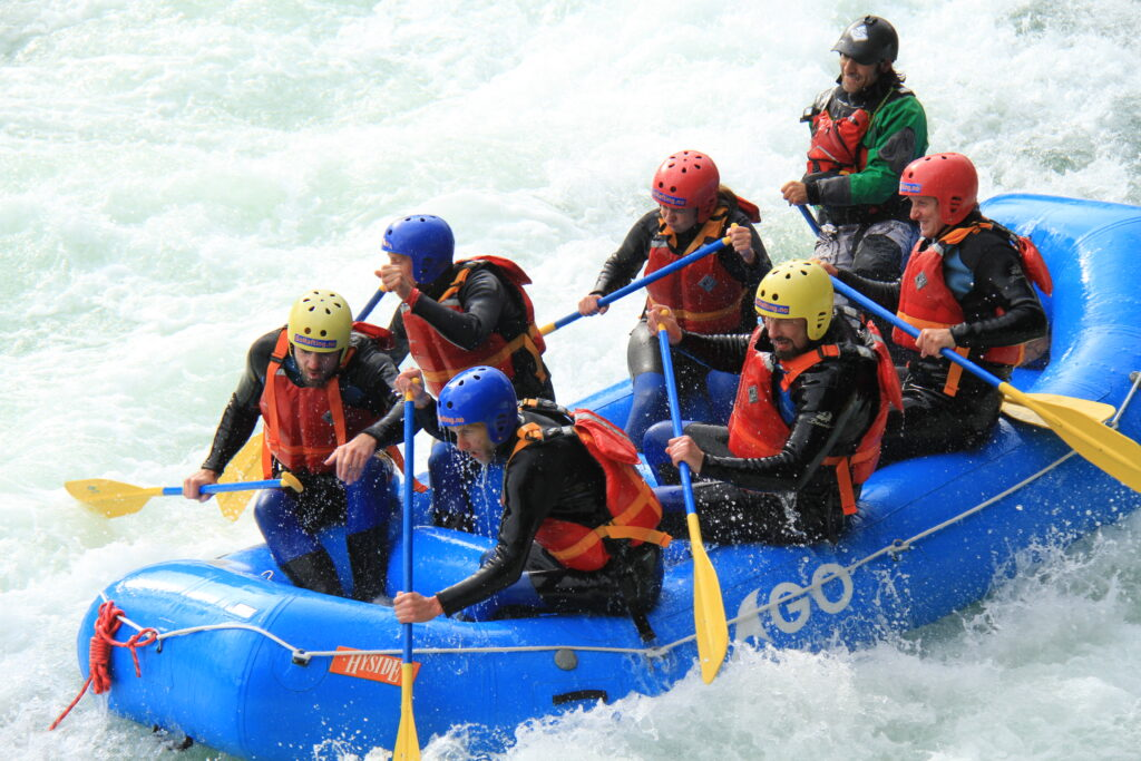 Rondane River Lodge rafting